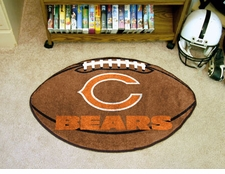 "Chicago Bears 22""x35"" Football Floor Mat"
