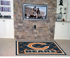Chicago Bears 4'x6' Floor Rug