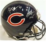 Chicago Bears Autographed Football Gear
