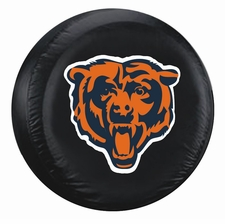 Chicago Bears Black Large Spare Tire Cover
