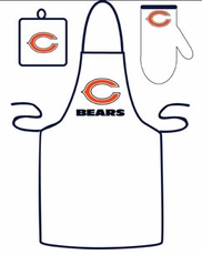 Chicago Bears Cooking / Grilling Apron Set