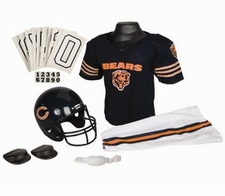 Chicago Bears Deluxe Youth / Kids Football Uniform Set