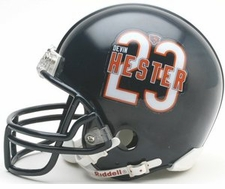 Chicago Bears Devin Hester Riddell Replica Player Mini Helmet