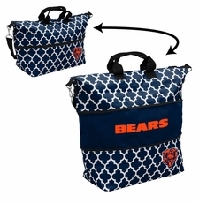 Chicago Bears  - Expandable Tote (patterned)