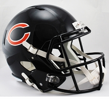 Chicago Bears Full-Size Deluxe Replica Speed Helmet
