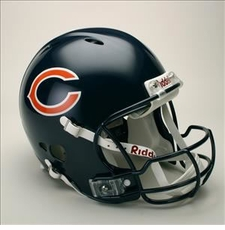 Chicago Bears Full Size Riddell Revolution NFL Helmet