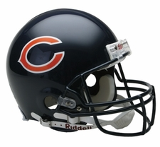 Chicago Bears Riddell Full Size Authentic Helmet