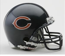 Chicago Bears Riddell Replica Mini Helmet