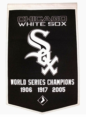 Chicago White Sox 24x36 Wool Dynasty Banner