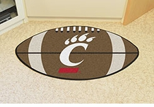 "Cincinnati Bearcats 22""x35"" Football Floor Mat"