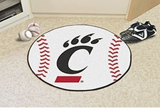 "Cincinnati Bearcats 27"" Baseball Floor Mat"