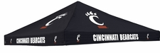 Cincinnati Bearcats Colored Logo Tent Replacement Canopy