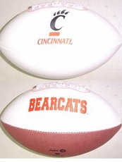 Cincinnati Bearcats Full Size Signature Embroidered Football