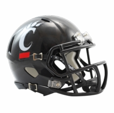 Cincinnati Bearcats Riddell Speed Mini Helmet