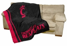Cincinnati Bearcats UltraSoft Blanket