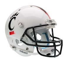 Cincinnati Bearcats White Schutt XP Full Size Replica Helmet