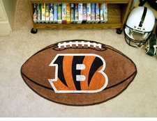 "Cincinnati Bengals 22""x35"" Football Floor Mat"