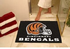 "Cincinnati Bengals 34""x45"" All-Star Floor Mat"