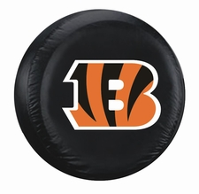 Cincinnati Bengals Black Large Spare Tire Cover