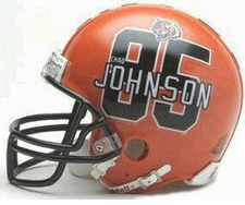 Cincinnati Bengals Chad Johnson Riddell Replica Player Mini Helmet