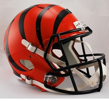Cincinnati Bengals Full-Size Deluxe Replica Speed Helmet