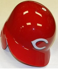 Cincinnati Reds Right Flap Rawlings Authentic Batting Helmet