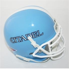 Citadel Bulldogs Schutt Authentic Mini Helmet