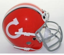 Clemson Tigers 1967 Schutt Throwback Mini Helmet