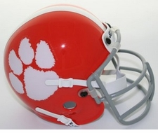 Clemson Tigers 1970-74 Schutt Throwback Mini Helmet