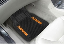 Clemson Tigers 2-Piece Deluxe Car Mats