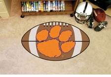 "Clemson Tigers 22""x35"" Football Floor Mat"