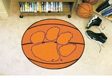 "Clemson Tigers 27"" Basketball Floor Mat"
