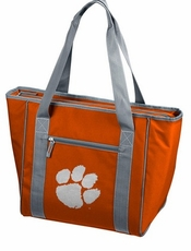 Clemson Tigers 30 Can Cooler Tote