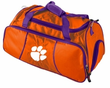 Clemson Tigers Athletic Duffel Bag