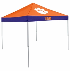 Clemson Tigers Economy 2-Logo Logo Canopy Tailgate Tent