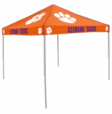 Clemson Tigers Orange Logo Canopy Tailgate Tent