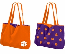 Clemson Tigers Reversible Tote Bag