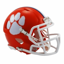 Clemson Tigers Riddell Speed Mini Helmet