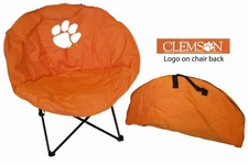 Clemson Tigers Round Sphere Chair