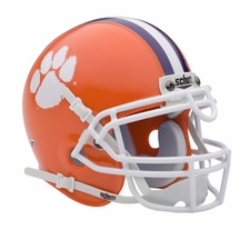 Clemson Tigers Schutt Authentic Mini Helmet