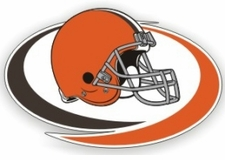 Cleveland Browns 12 x 12 Die-Cut Window Film Decal