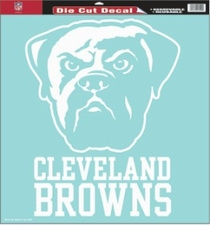 Cleveland Browns 18 x 18 Die-Cut Decal