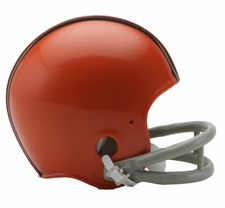Cleveland Browns 1962-74 2-Bar Throwback Replica Mini Helmet