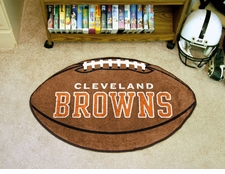 "Cleveland Browns 22""x35"" Football Floor Mat"