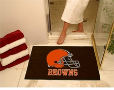 "Cleveland Browns 34""x45"" All-Star Floor Mat"