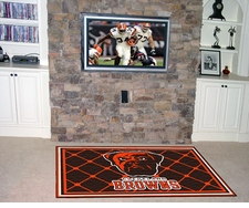 Cleveland Browns 4'x6' Floor Rug