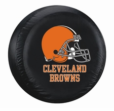 Cleveland Browns Black Large Spare Tire Cover