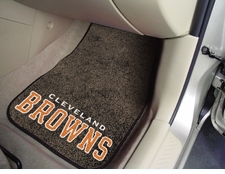 Cleveland Browns Car Mats 2 Piece Front Set