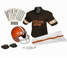Cleveland Browns Deluxe Youth / Kids Football Uniform Set