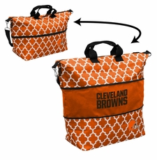 Cleveland Browns  - Expandable Tote (patterned)